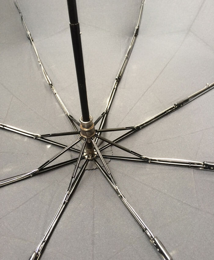 風にも負けない頑丈な傘の骨組み