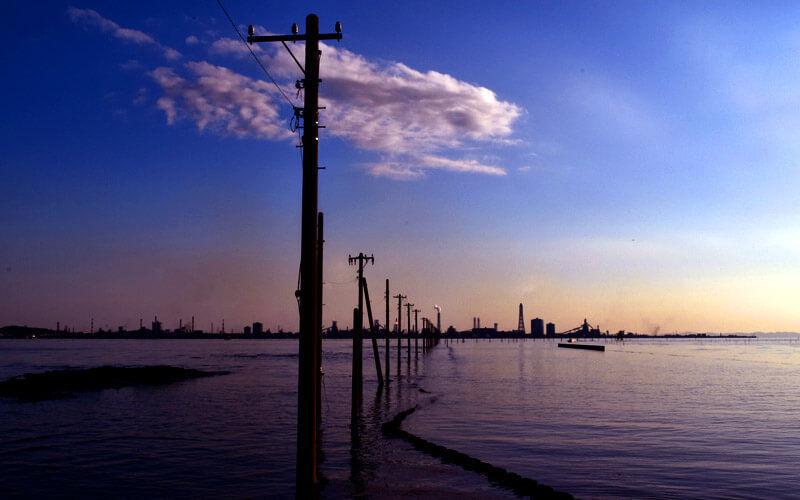 日本のウユニ塩湖と呼ばれる千葉の江川海岸にカメラを持って撮影に行ってきた
