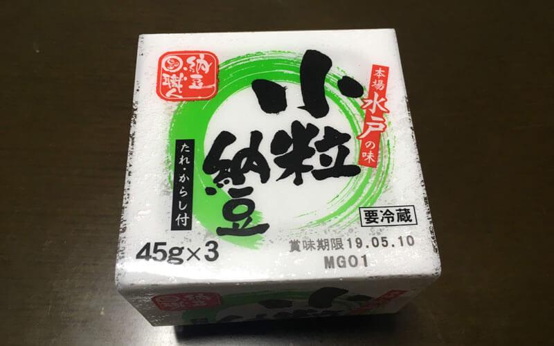 納豆「緑の小粒納豆」