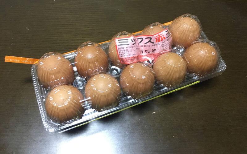 卵「ミックス赤玉」