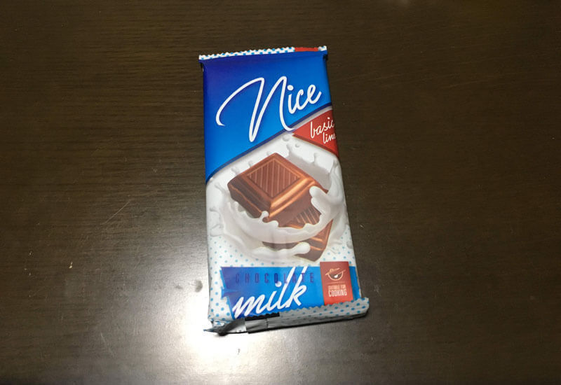 ミルクチョコレート(ポーランド産)