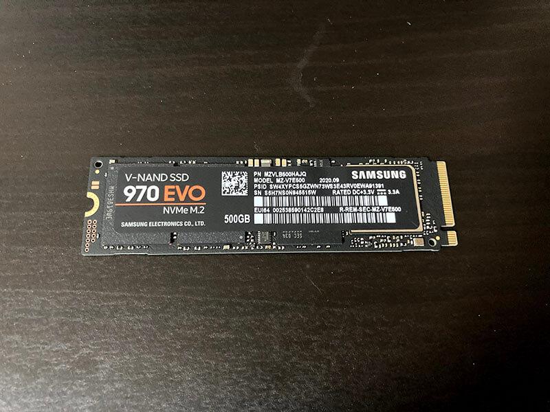MacBook ProのSSDをM.2 NVMe SSDに換装する方法